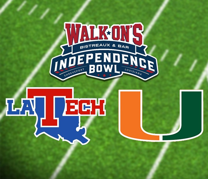 Csj 2019 Walk On S Independence Bowl Louisiana Tech Vs Miami How To Watch And Fearless Predictions The College Sports Journal